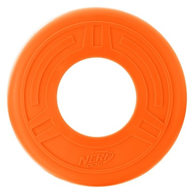 NERF Atomic Flyer Dog Toy - Orange