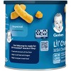 Gerber Lil' Crunchies Baked Non-GMO Whole Grain Corn Snack Mild Cheddar - 1.48oz - image 2 of 4