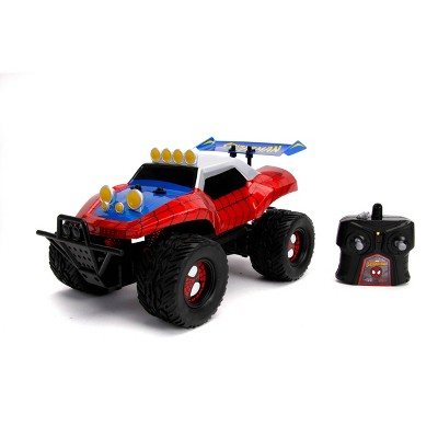 Jada Toys Marvel Spider-Man Buggy Remote Control Vehicle 1:14 Scale - Glossy Red