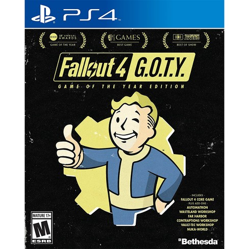 Fallout 4: Game of the Year Edition - PlayStation 4 - image 1 of 4