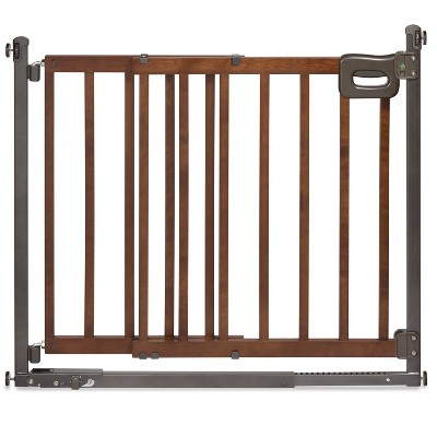 Summer Infant Walk Thru Step To Secure Wood Baby Gate Target