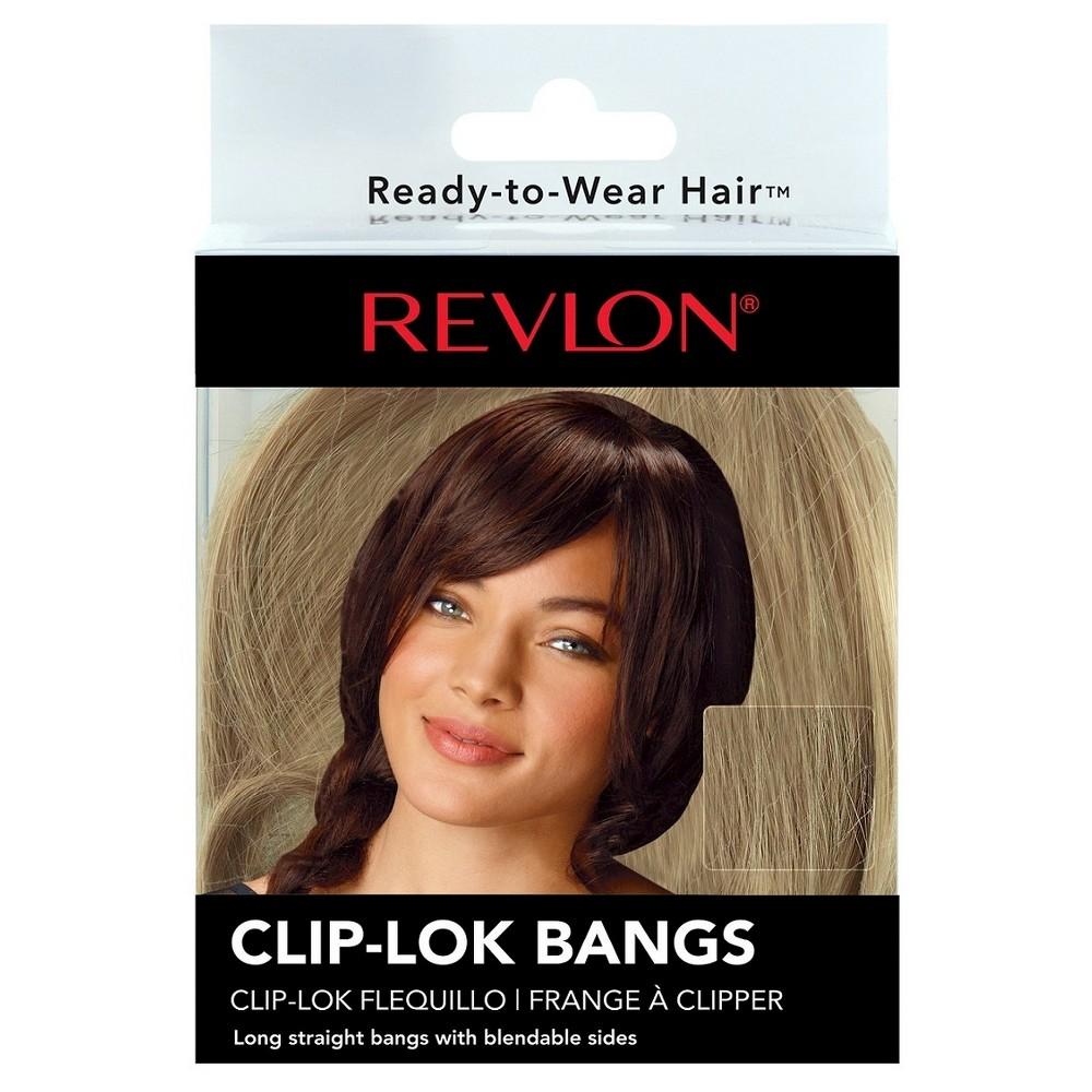 Clip-Lok Bangs - Dark Blonde