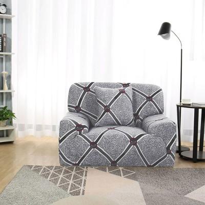 1 Pc Polyester Floral Stretch Sofa Slipcovers Multicolor  - PiccoCasa