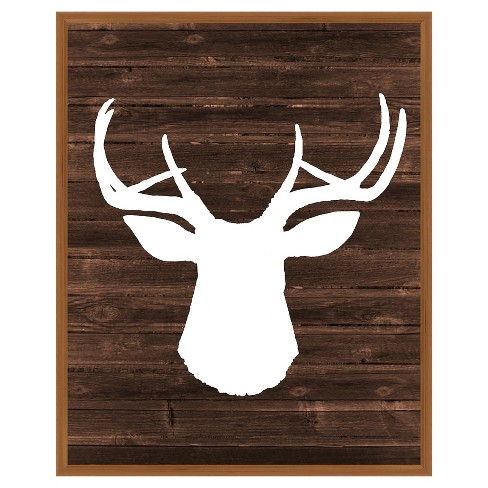 17 X 21 Deer Single Picture Frame