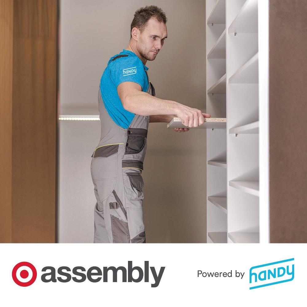 Shelving Unit Assembly Powered By Handy
