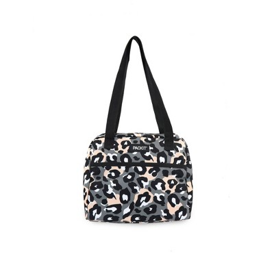 Packit Freezable Hampton Lunch Sack - Wild Leopard Gray