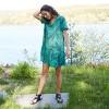 Women's Short Sleeve Ruffle Hem Dress - A New Day™ - image 4 of 4
