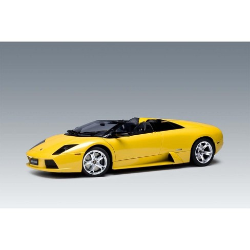 Lamborghini Murcielago Roadster Yellow 1 12 Diecast Car Model By