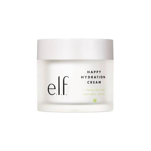 e.l.f. Happy Hydration Cream + hemp-derived Cannabis Sativa Seed Oil - image 1 of 4