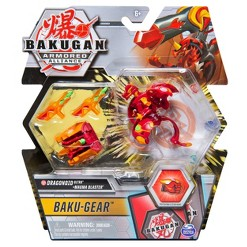 Bakugan Ultra Dragonoid with Transforming Baku-Gear Armored Alliance Collectible Action Figure 3""