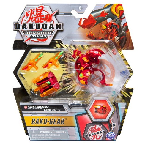 "Bakugan Ultra Dragonoid with Transforming Baku-Gear Armored Alliance Collectible Action Figure 3"" - image 1 of 4"