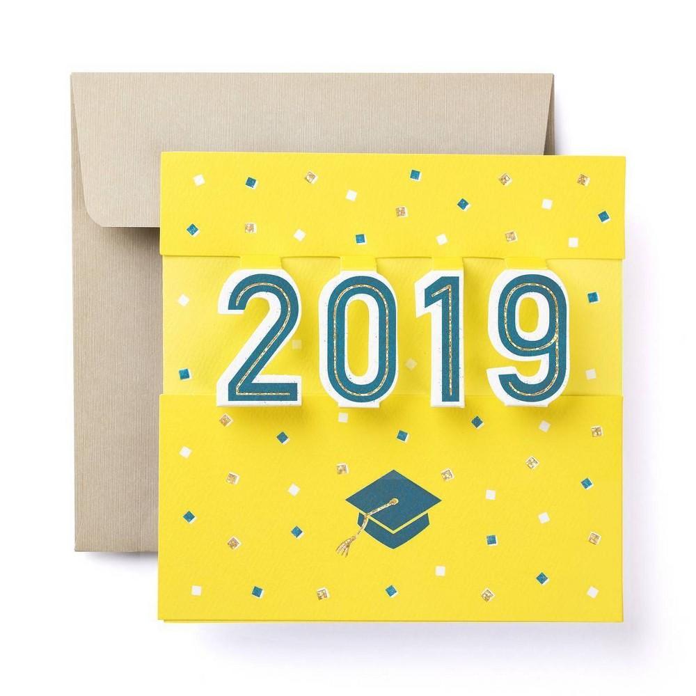 Image of 2019 Pop Graduation Greeting Card - Present Company