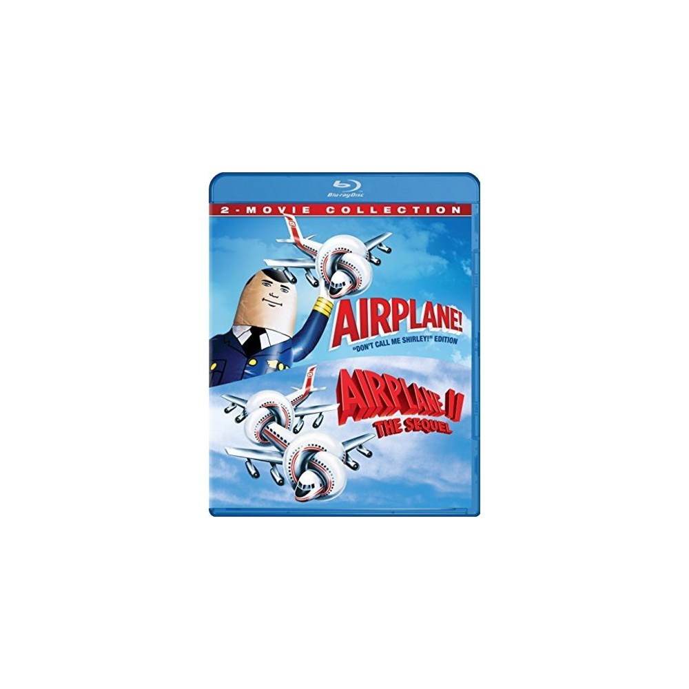 Airplane: 2-Movie Collection (Blu-ray)