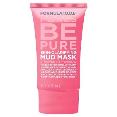 Formula 10.0.6 Clarifying Mud Mask - Strawberry Yarrow - 1oz