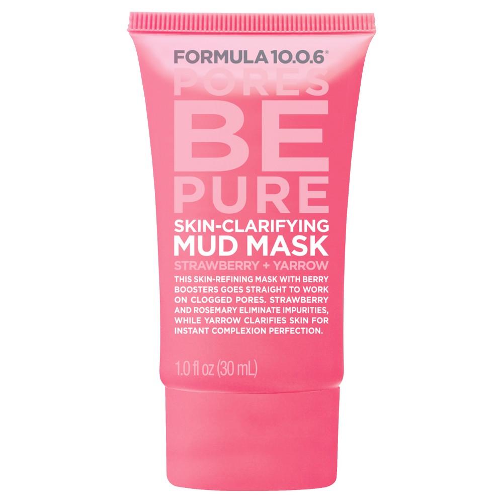 Image of Formula 10.0.6 Clarifying Mud Mask - Strawberry Yarrow - 1oz