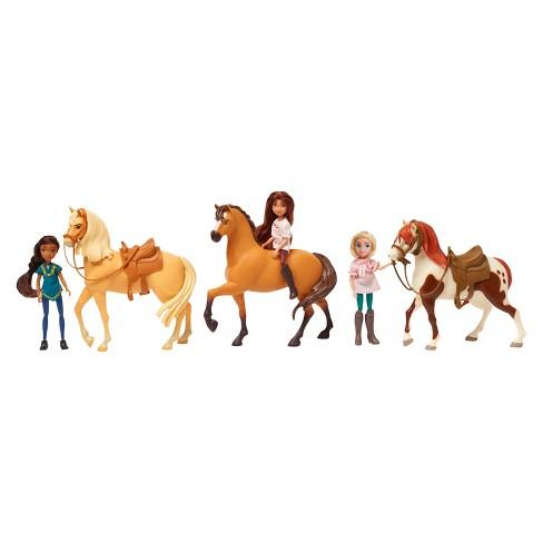 spirit riding free exclusive 3 horse boxed set target