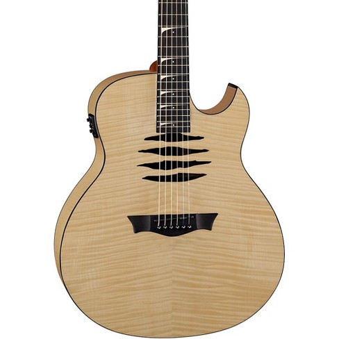 Dean Mako Dave Mustaine Flame Maple Acoustic-Electric Guitar Gloss Natural - image 1 of 4