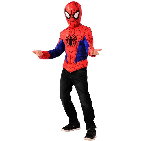 Imagine Spider-Man Muscle Chest Shirt Set � Kids Costume - image 1 of 1