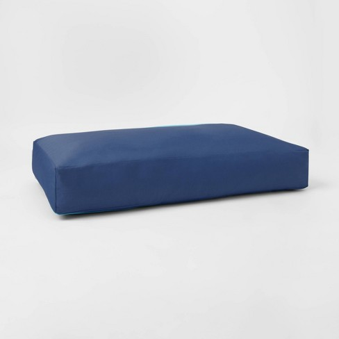 Sensory-Friendly Water-Resistant Crash Pad with Machine-Washable Cover Navy - Pillowfort™ - image 1 of 4