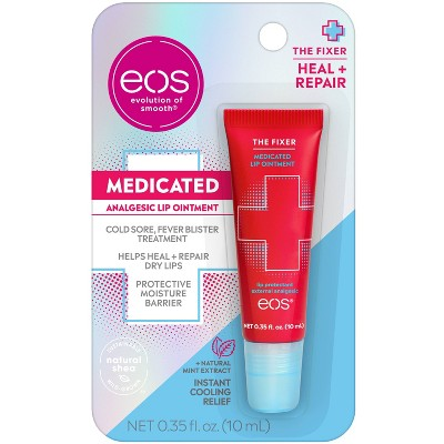 eos The Fixer Medicated Lip Balm Ointment - 0.35 fl oz