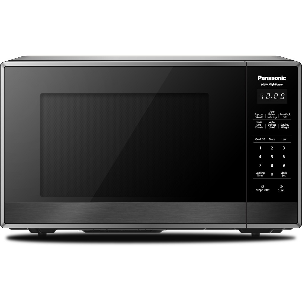 Panasonic Nn Sb438s 9 Cu Ft Microwave Nn Sb438s Dark Silver