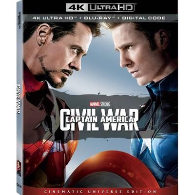 Captain America: Civil War (4K/UHD + Digital)(2 Disc)