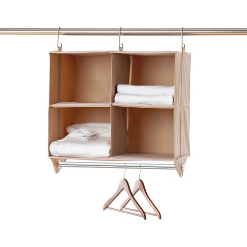 Neatfreak! closetMAX System™ 4 Cubby Organizer with Hanging Bar - image 1 of 1