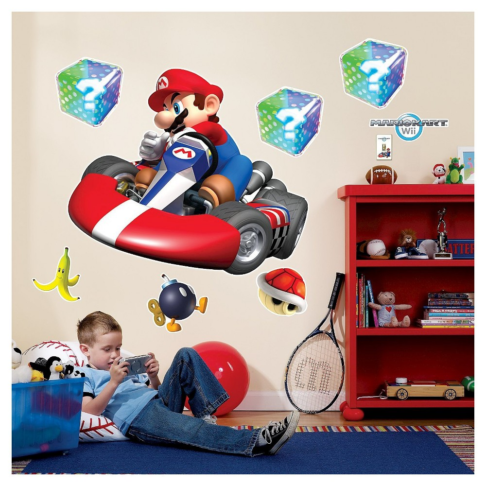 Image of Mario Kart Wii Wall Decal