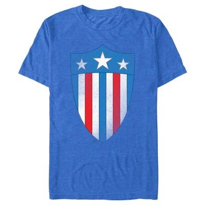 Men's Marvel Avengers Captain America USO Shield T-Shirt