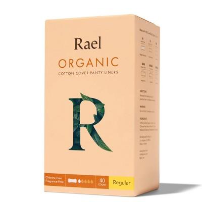Rael Organic Cotton Regular Panty Liners - 40ct