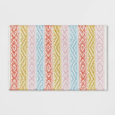 Banded Striped Bath Rug - Opalhouse™