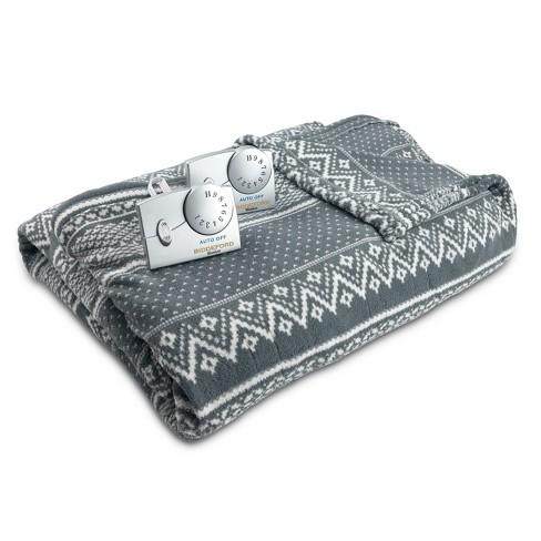 Solid Microplush Electric Blanket - Biddeford Blankets - image 1 of 3