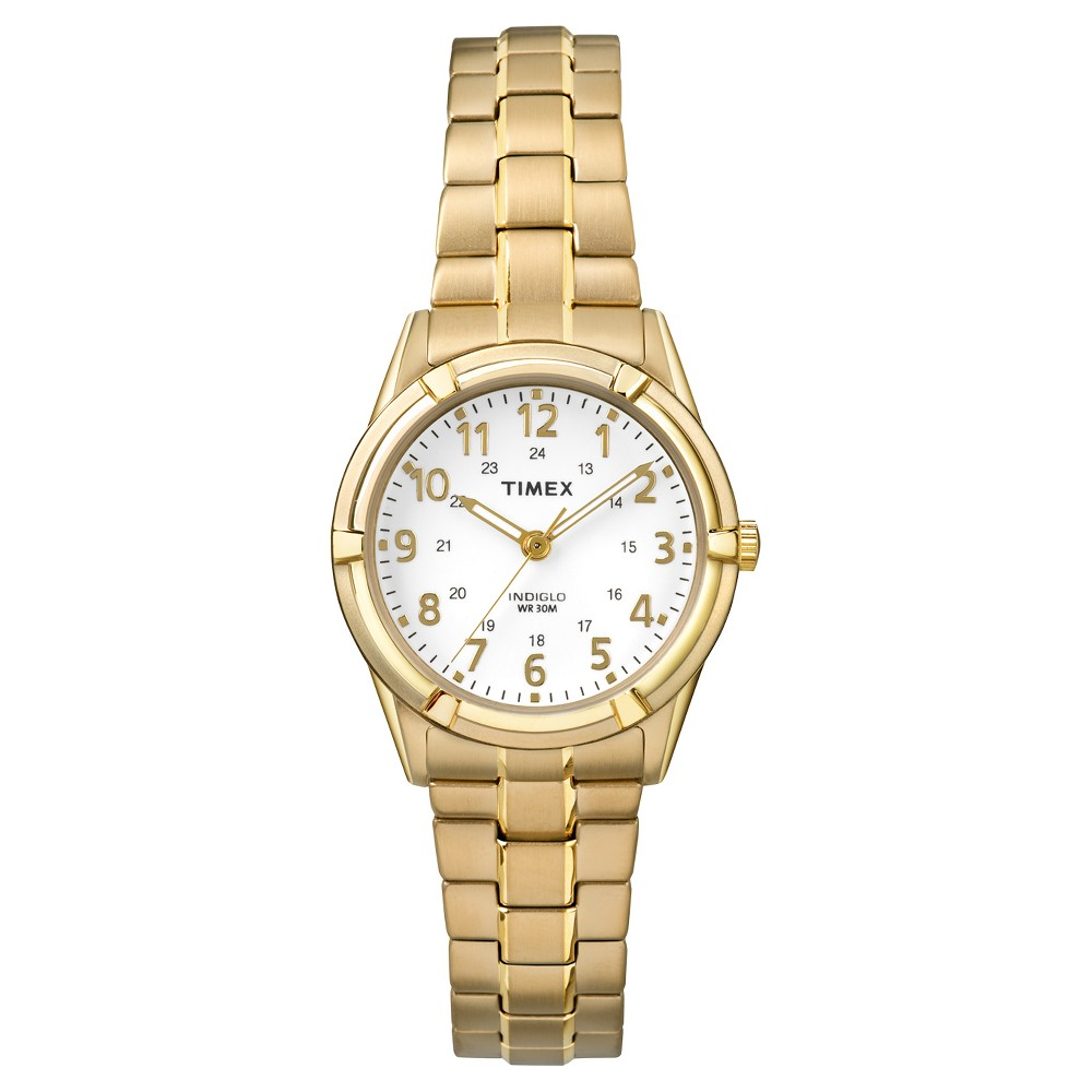 Women's Timex Expansion Band Watch - Gold TW2P891009J