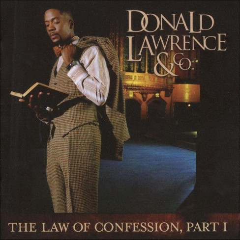 Donald Lawrence - The Law of Confession, Pt. I (CD) - image 1 of 1
