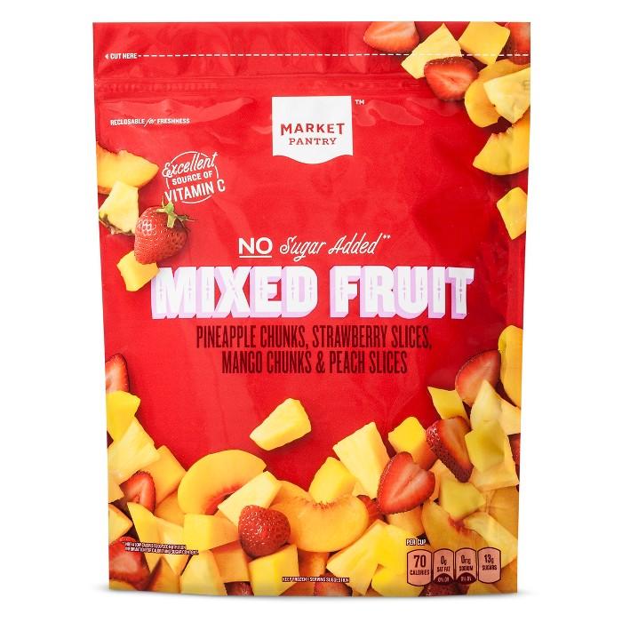 Mixed Fruit Frozen Blend - 48oz - Market Pantry™ - image 1 of 2