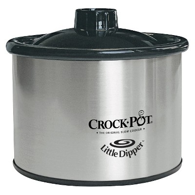 Crock-Pot 16 Oz. Little Dipper Food Warmer - Silver 32041-C-NP