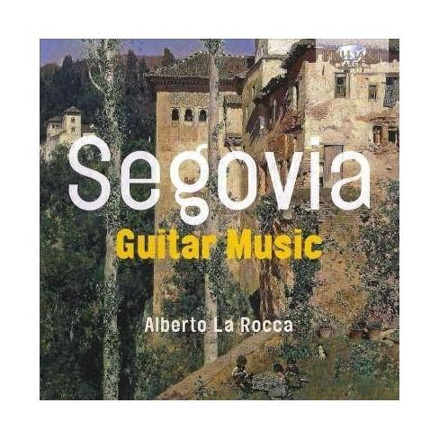 Alberto La Rocca - Segovia: Guitar Music (CD) - image 1 of 1