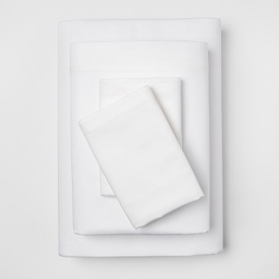 Solid Sheet Set (Queen)White 300 Thread Count - Project 62™