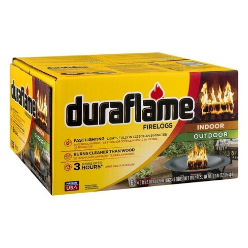 Duraflame 6pk 4.5lb Firelog - image 1 of 4