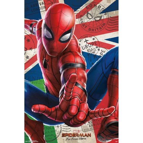"""34""""x23"""" Spider-Man: Far From Home - Spidey Unframed Wall Poster Print - Trends International - image 1 of 2"""