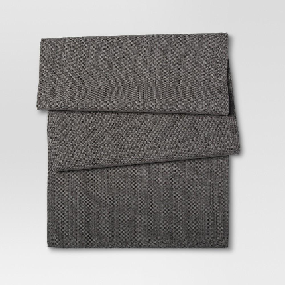 Gray Table Runner - Threshold