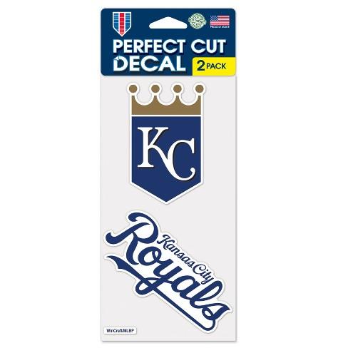 MLB Kansas City Royals 2pk Multi Use Decals - image 1 of 1