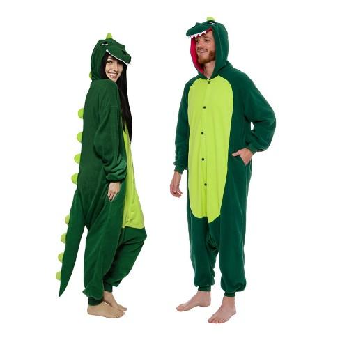 Funziez! Dinosaur Adult Unisex Novelty Union Suit - image 1 of 4