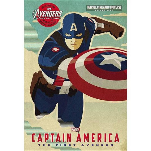 Phase One: Captain America - (Marvel Cinematic Universe) by  Alex Irvine (Hardcover) - image 1 of 1