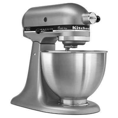 KitchenAid Classic Plus 4.5qt Stand Mixer - Silver KSM75