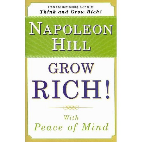 Grow Rich! - by  Napoleon Hill (Paperback) - image 1 of 1