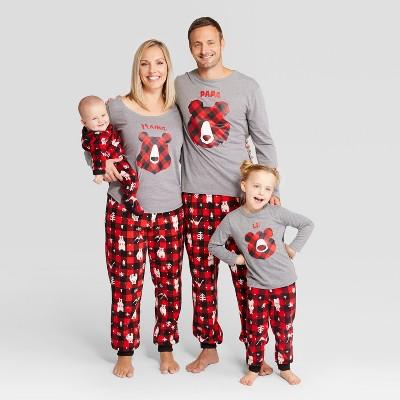 holiday bear family pajamas collection wondershop - Target Christmas Pjs