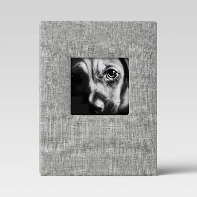 Brag Book with Frame Front Gray - Threshold™