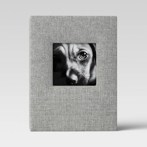 Brag Book with Frame Front Gray - Threshold™ - image 1 of 3
