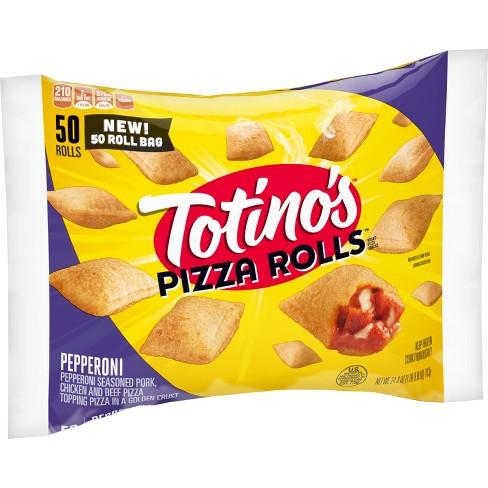Totino's Pepperoni Frozen Pizza Rolls - 24.8oz - image 1 of 3